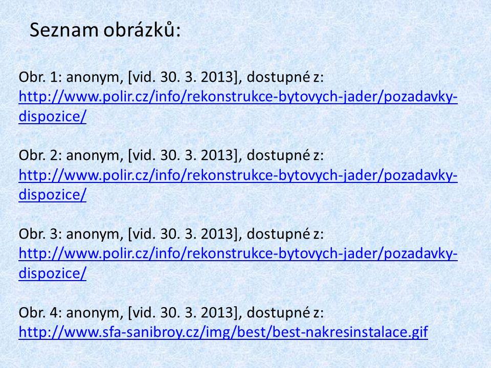 Seznam obrázků: Obr. 1: anonym, [vid. 30. 3. 2013], dostupné z: